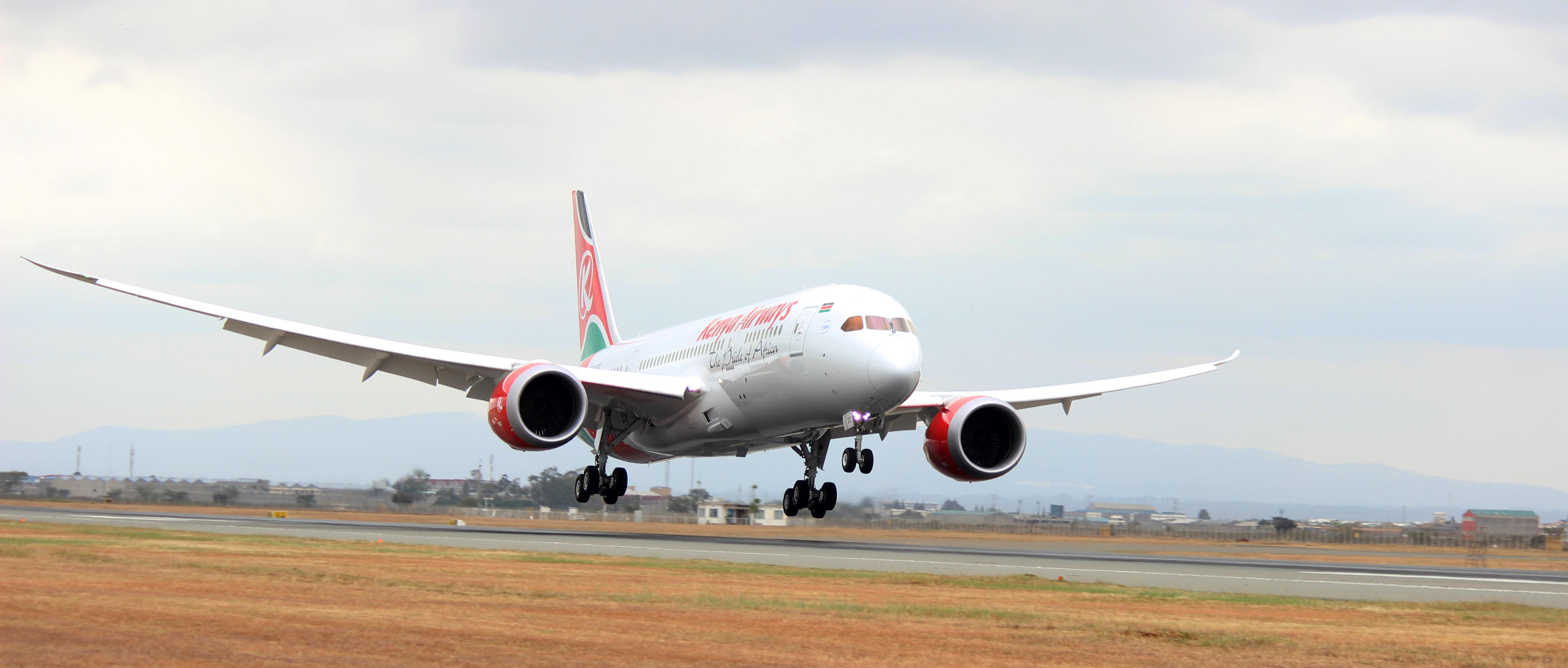 Kenya Airways Receives 3rd Boeing 787 Dreamliner Potentash